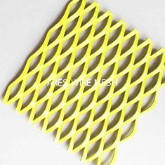 China A1060 Facade Decoration Painting Expanded Aluminum Mesh Cladding supplier
