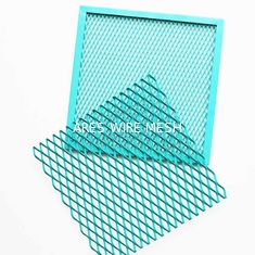 China Painting Surface Mesh Ceiling Panels Various Size For Interior Decoration supplier