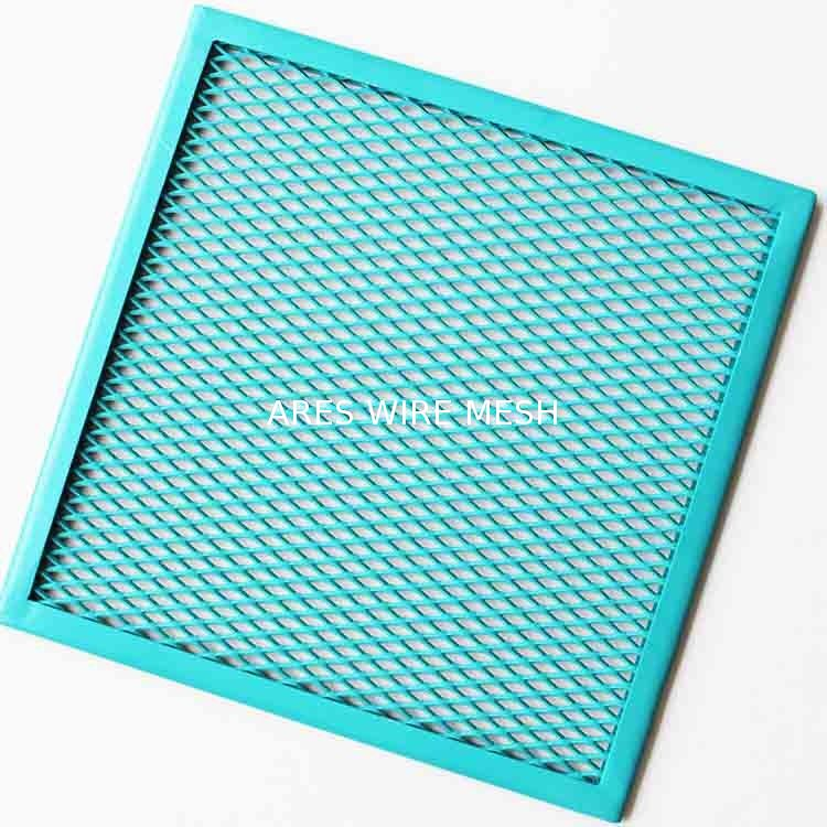 A1060 Colorful Painting Expanded Aluminum Mesh Custom Size