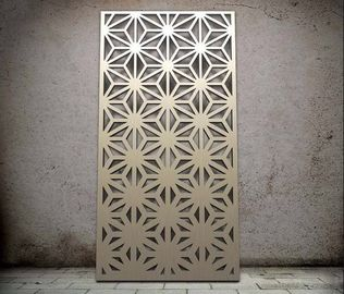 China Elegant Colorful Furnishing Decorative Screen Panel Enhance Exterior And Interior Spaces distributor
