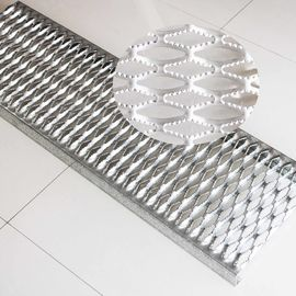 China Mezzanine Aluminum Safety Grating Simple And Beautiful Appearance Long Lifespan factory