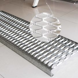 China Stainless Steel Galvanized Steel Grating Anti Slip Diamond Safety Grating For Walkways distributor