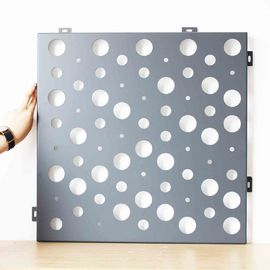 China Residential Or Commercial Decorative Screen Panel Various Perforated Designs factory